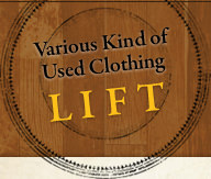 Various Kind of Used Clothing LIFT